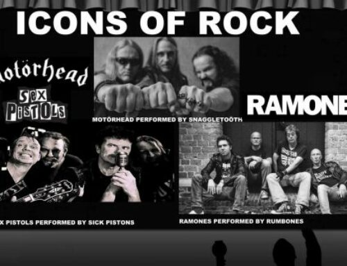 ICONS OF ROCK in Schaaf City Theater Zaterdag 4 november