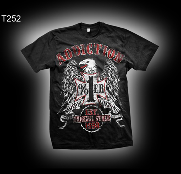 Addiction Brand T252 Eagle 1% Motor Clothing