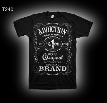 Addiction Brand T240 Old School 1%er