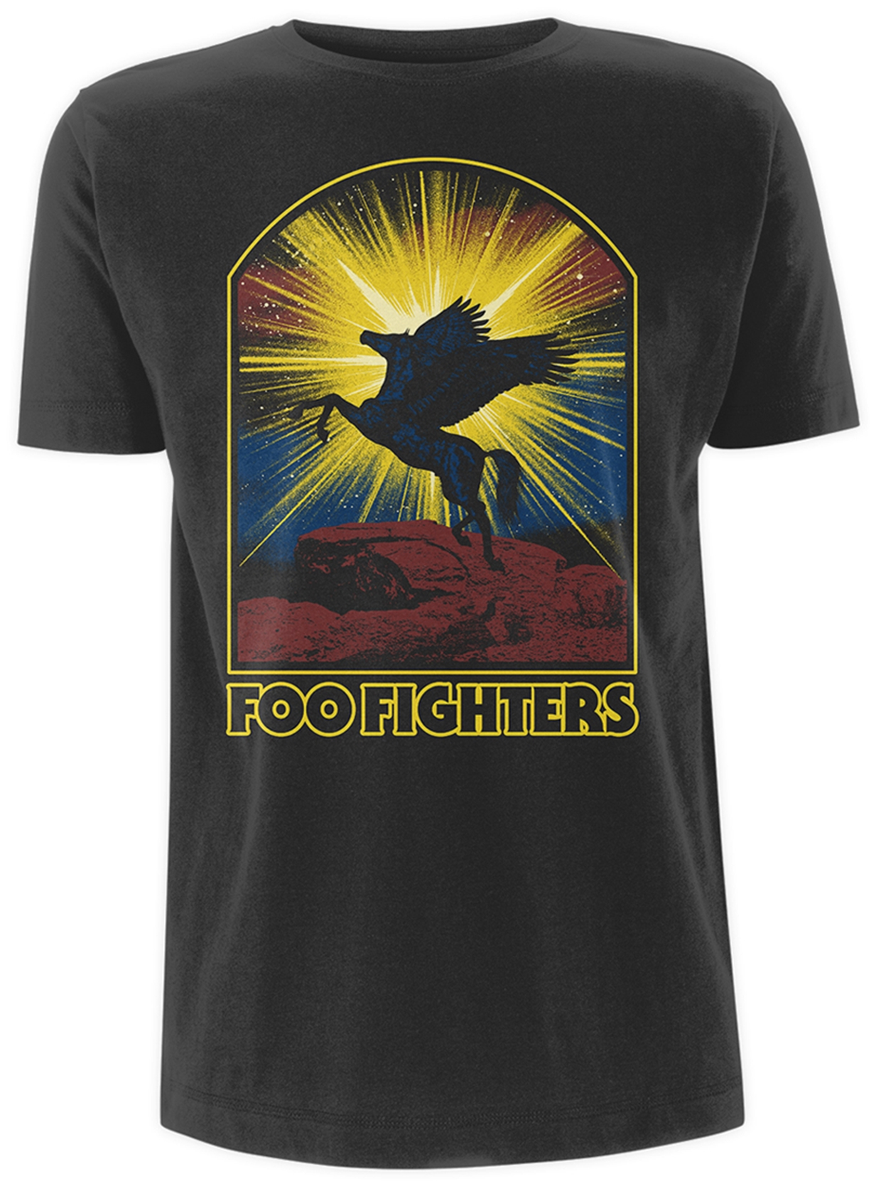 Foo Fighters Winged Horse