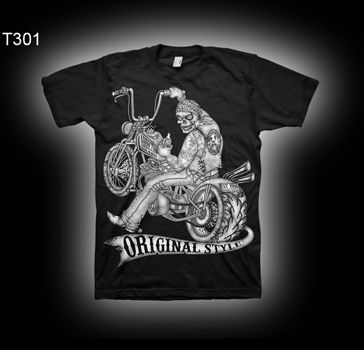 Addiction Brand T301 Tattoo Biker