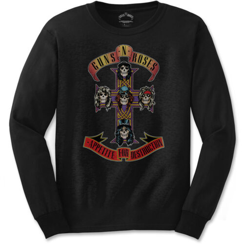 Guns N Roses Appetite For Destruction Long Sleeve