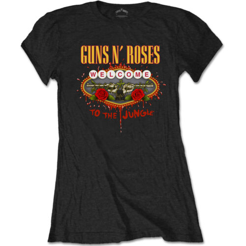 Guns N Roses Welcome To The Jungle (Girly)