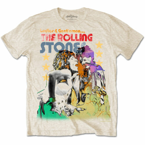 Rolling Stones, The Mick & Keith Watercolour Stars