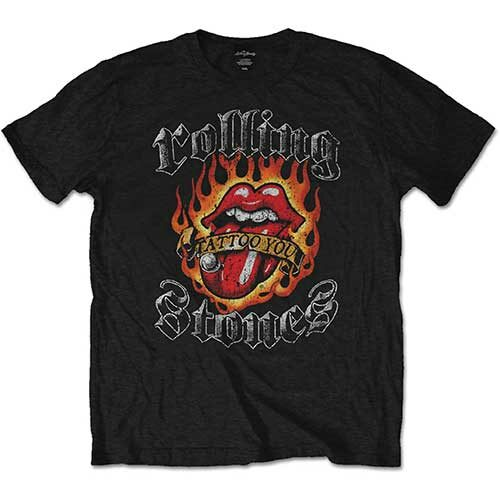 Rolling Stones, The Flaming Tattoo Tongue