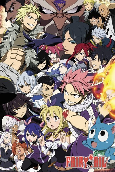 Poster Fairy Tail Season 6 Key Art X