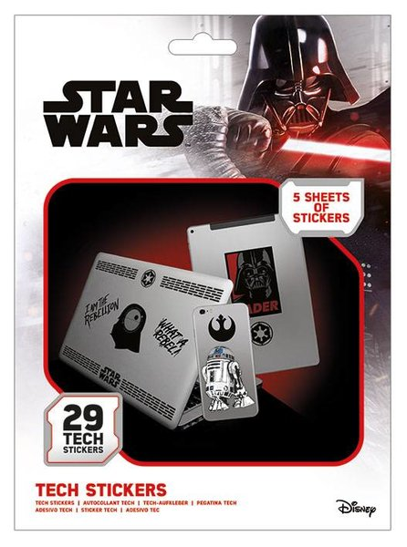 Tech Stickers Star Wars X