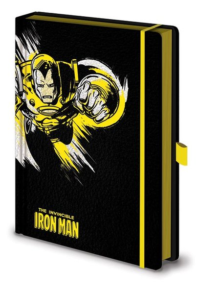Notitieboek A5 Premium Marvel Retro Iron Man X