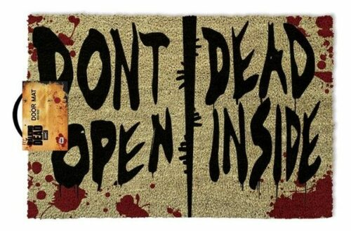 Deurmat The Walking Dead Don't Open Dead Inside