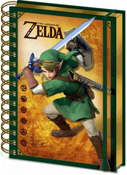 Notitieboek A5 3D The Legend Of Zelda X