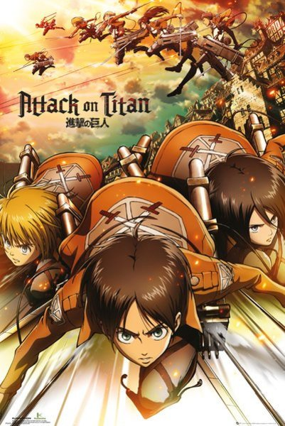 Poster Attack On Titan X