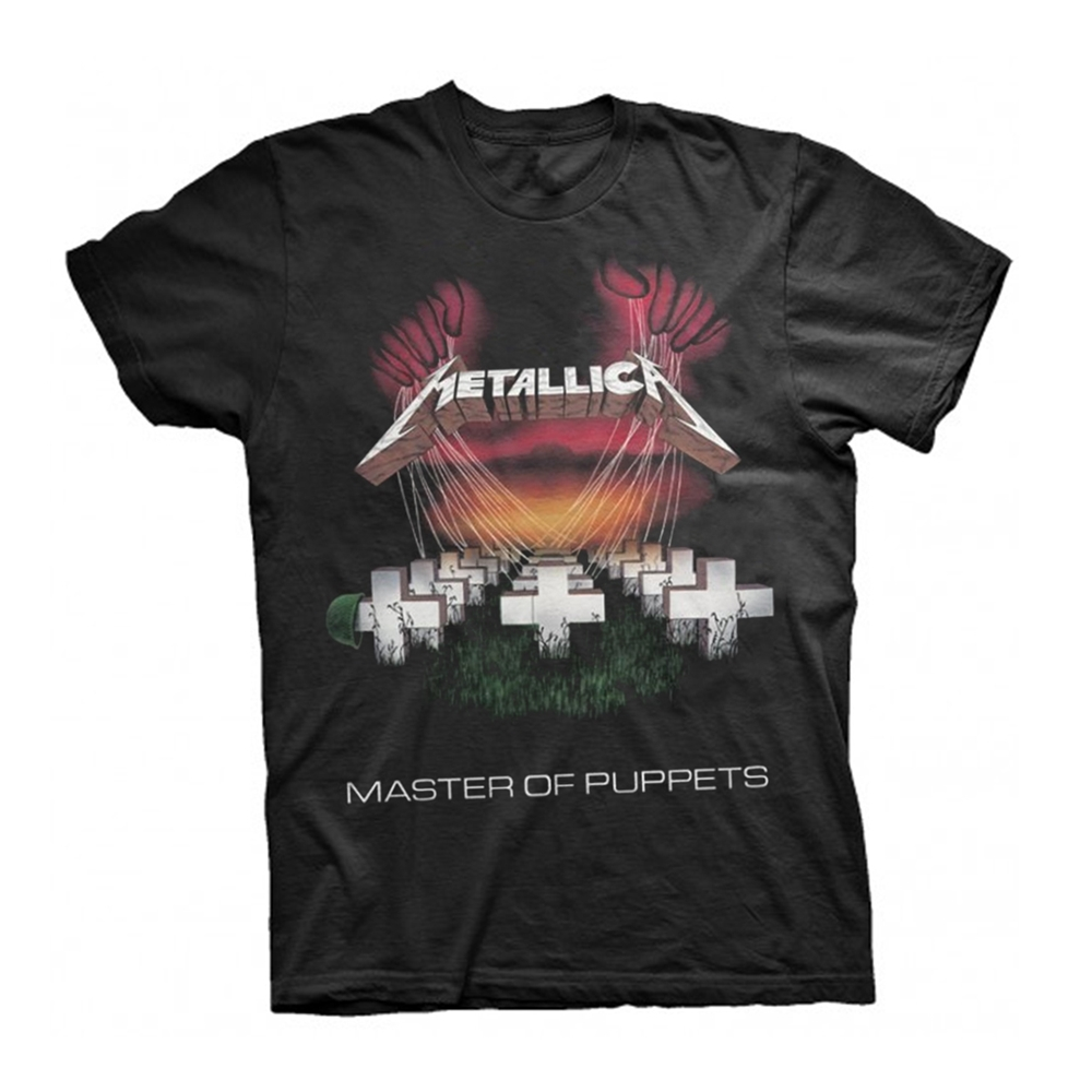 Metallica Master Of Puppets European Tour '86