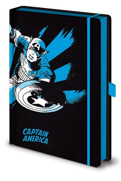 Notitieboek A5 Premium Marvel Retro Captain America X