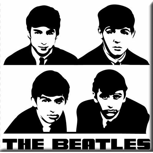 Koelkast Magneet The Beatles Portrait