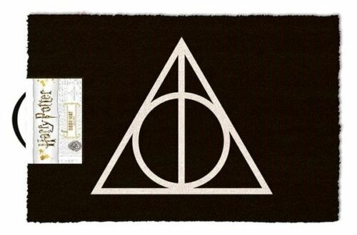 Deurmat Harry Potter Deathly Hallows X