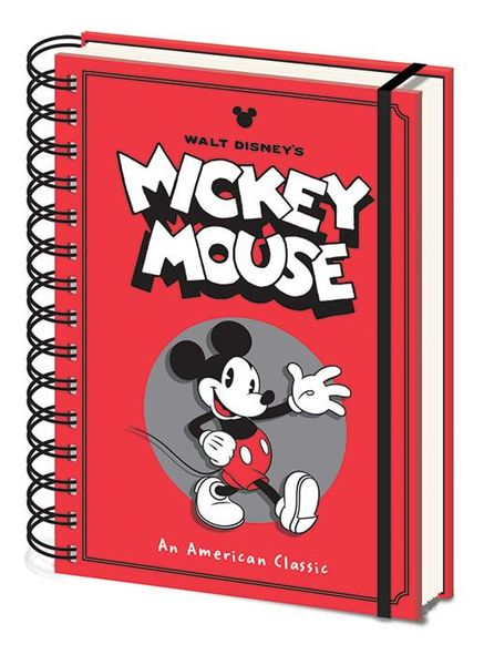 Notitieboek A5 Disney Mickey Mouse X
