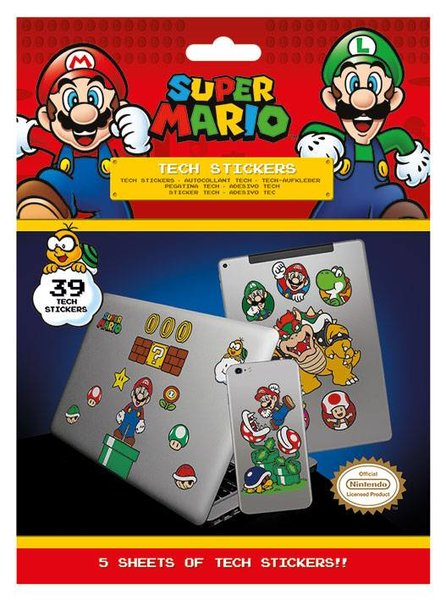 Tech Stickers Super Mario X