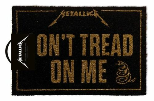 Deurmat Metallica Don't Tread On Me X