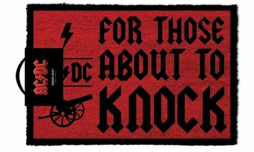 Deurmat AC/DC For Those About To Knock X