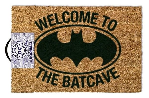 Deurmat DC Comics Welcome To The Batcave