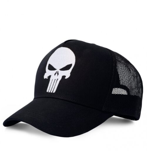 Marvel Punisher Logo Cap