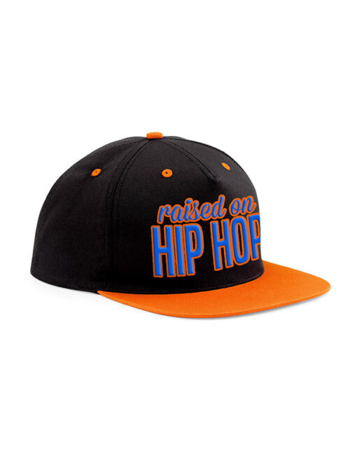 Raised On Hip Hop Snapback Cap