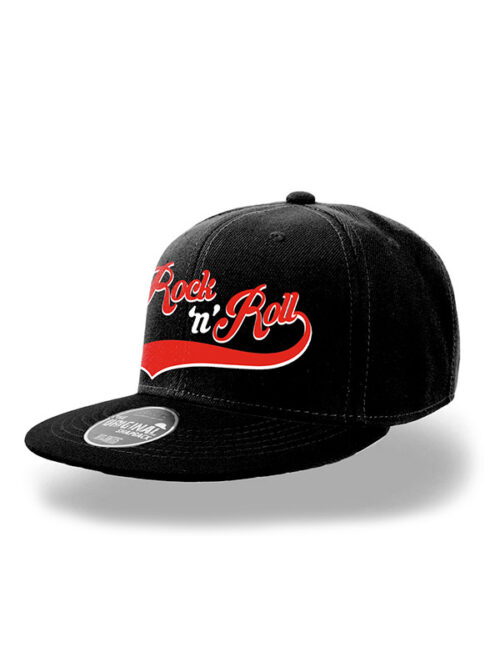 Rock N Roll Snapback Cap