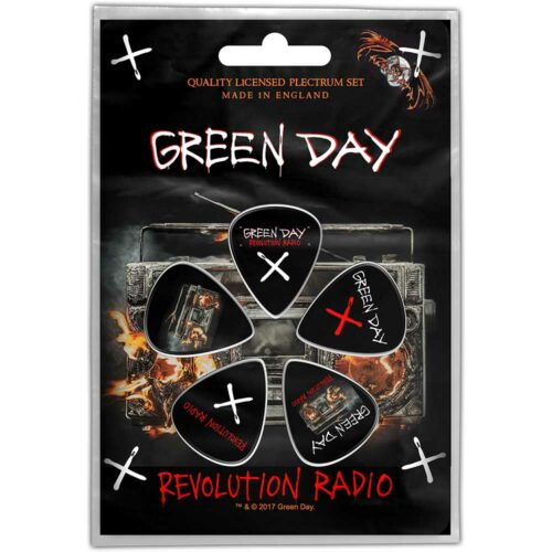 Plectrums Green Day Revolution Radio