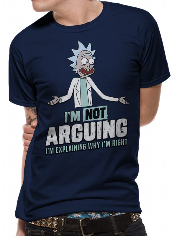 Rick and Morty Arguing