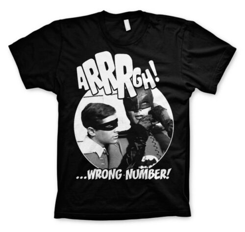 DC Comics Batman Arrgh Wrong Number