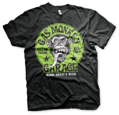 Gas Monkey Garage Green Logo