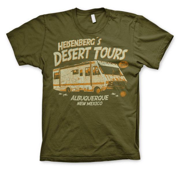 Breaking Bad Heisenberg's Desert Tours