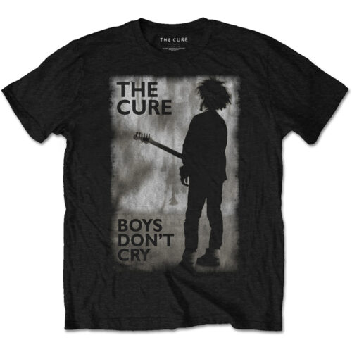 The Cure Boys Don't Cry Black and White