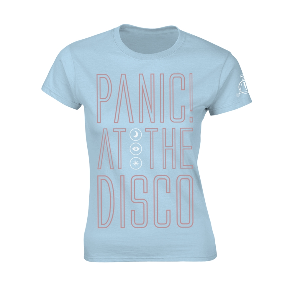 Panic At The Disco Outline Name (Girly)