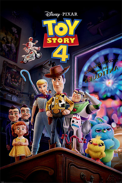 Poster Toy Story 4 Antique Shop Anarchy X