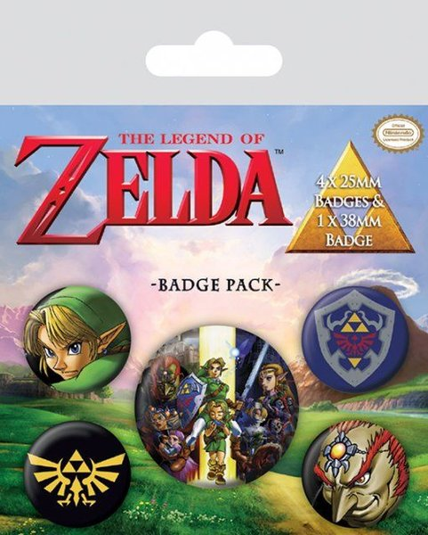 Buttons The Legend Of Zelda X