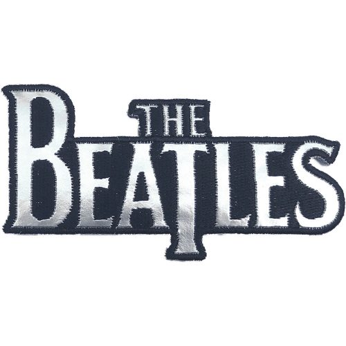 Beatles,The Patch (BEP030SV) Silver Drop T Logo