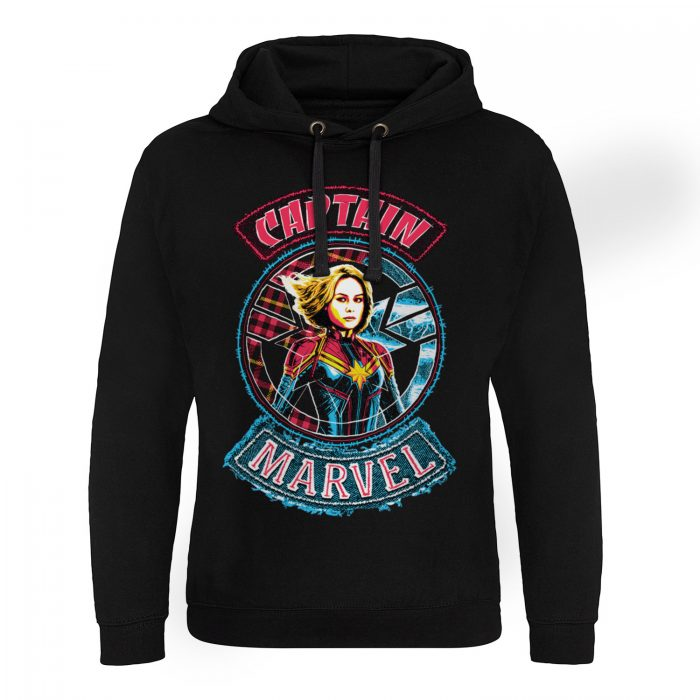 Marvel Captain Marvel Patch Epic Hoodie