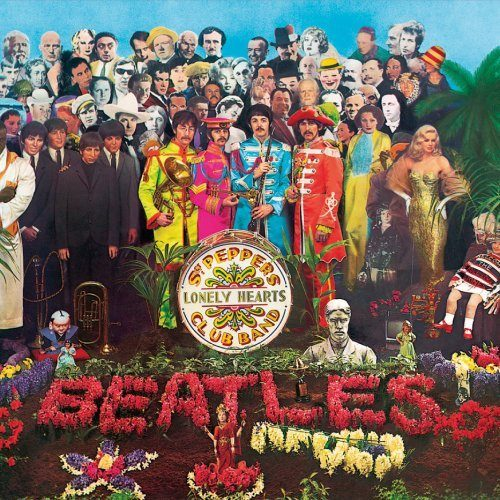Metal Wall Sign Beatles,The Sgt Pepper Album Cover