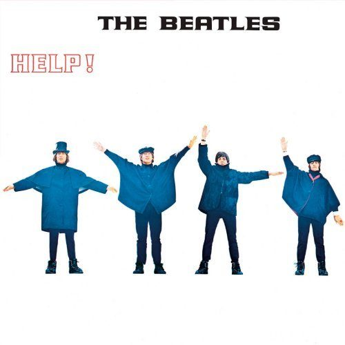 Metal Wall Sign Beatles,The Help Album Cover
