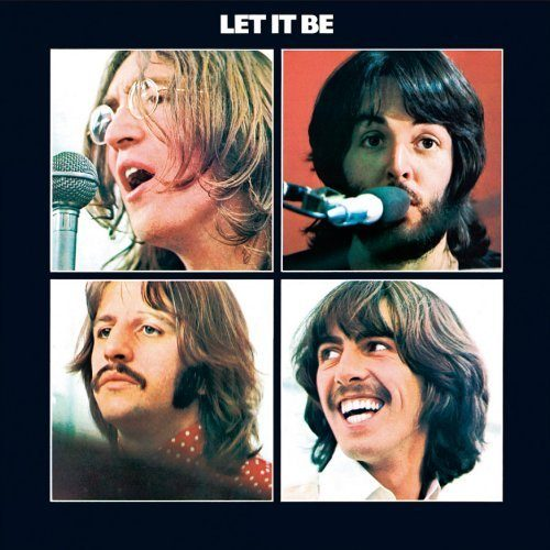 Metal Wall Sign Beatles,The Let It Be Album Cover