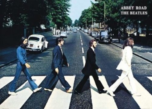 Giant Poster Beatles Abbey Road X