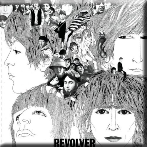 Koelkast Magneet Beatles,The Revolver