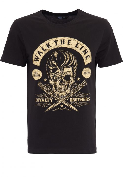 King Kerosin Skull Print Walk The Line