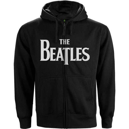 Beatles, The Zip Hoodie Drop T Logo