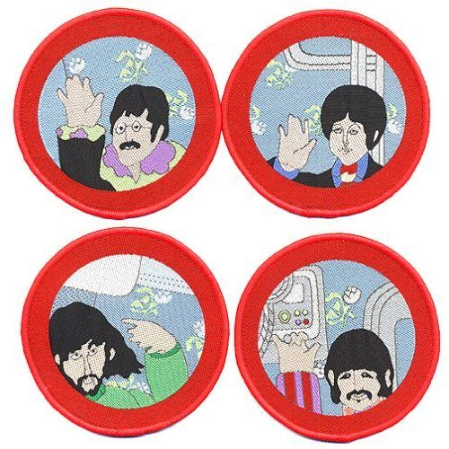 Beatles,The Patch Set (BEP017) Cartoon Porthole