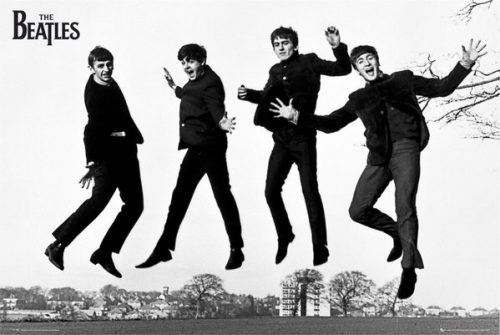 Poster The Beatles Jump 2 X