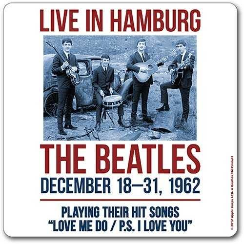 Onderzetter Beatles,The Live In Hamburg 1962