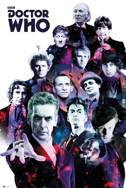 Poster Doctor Who Cosmos X