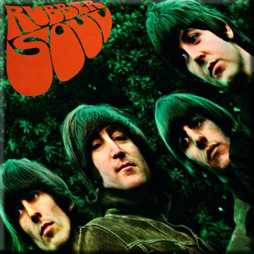 Koelkast Magneet Beatles,The Rubber Soul